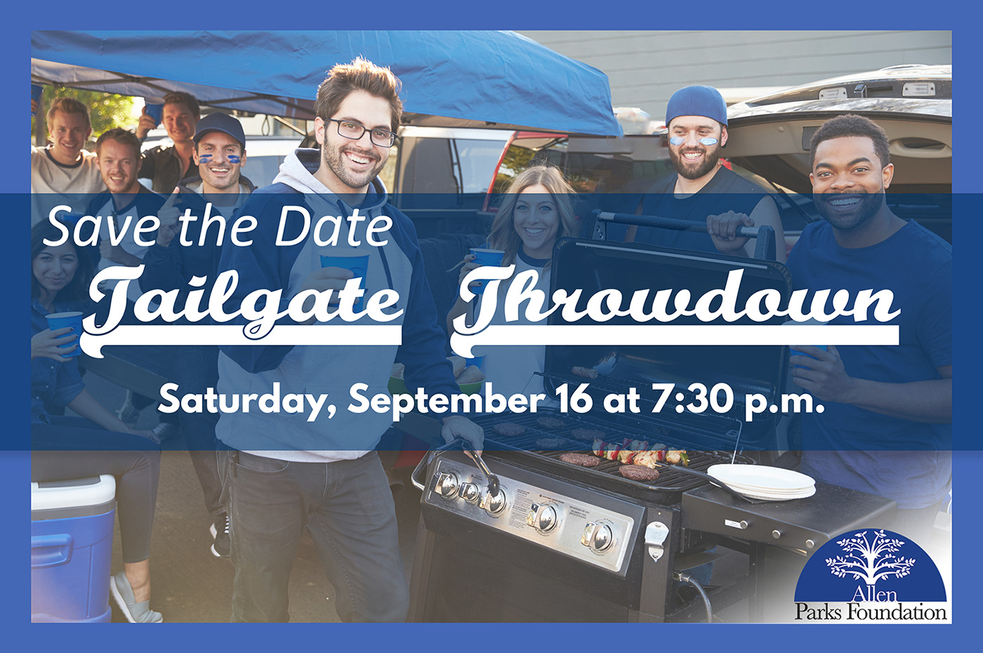 allen texas events, allen parks foundation, tailgate throwdown