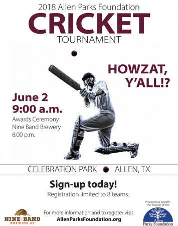 Cricket Tournament @ Celebration Park | Allen | Texas | United States
